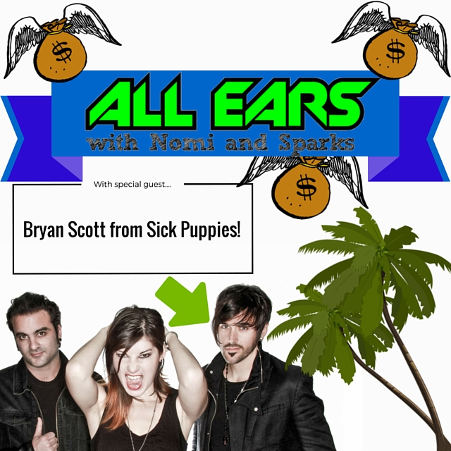 With special guest.... Bryan Scott from Sick Puppies!