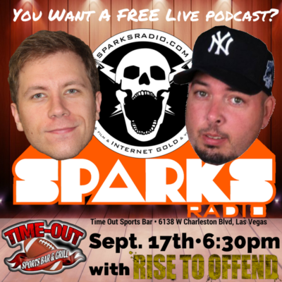 Sparks Radio Podcast Ep 112: RANT about Heroin Epidemic, Indiana Fertility, and the FREE LIVE Show!