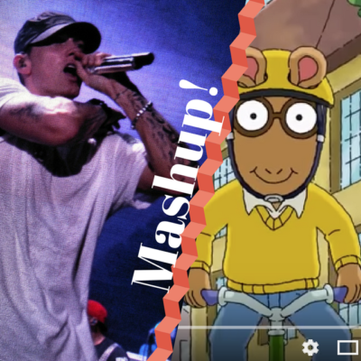 Eminem MashUp With Arthur Cartoon