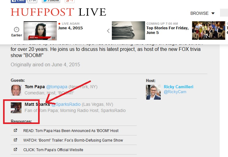 sparks huff post head shot