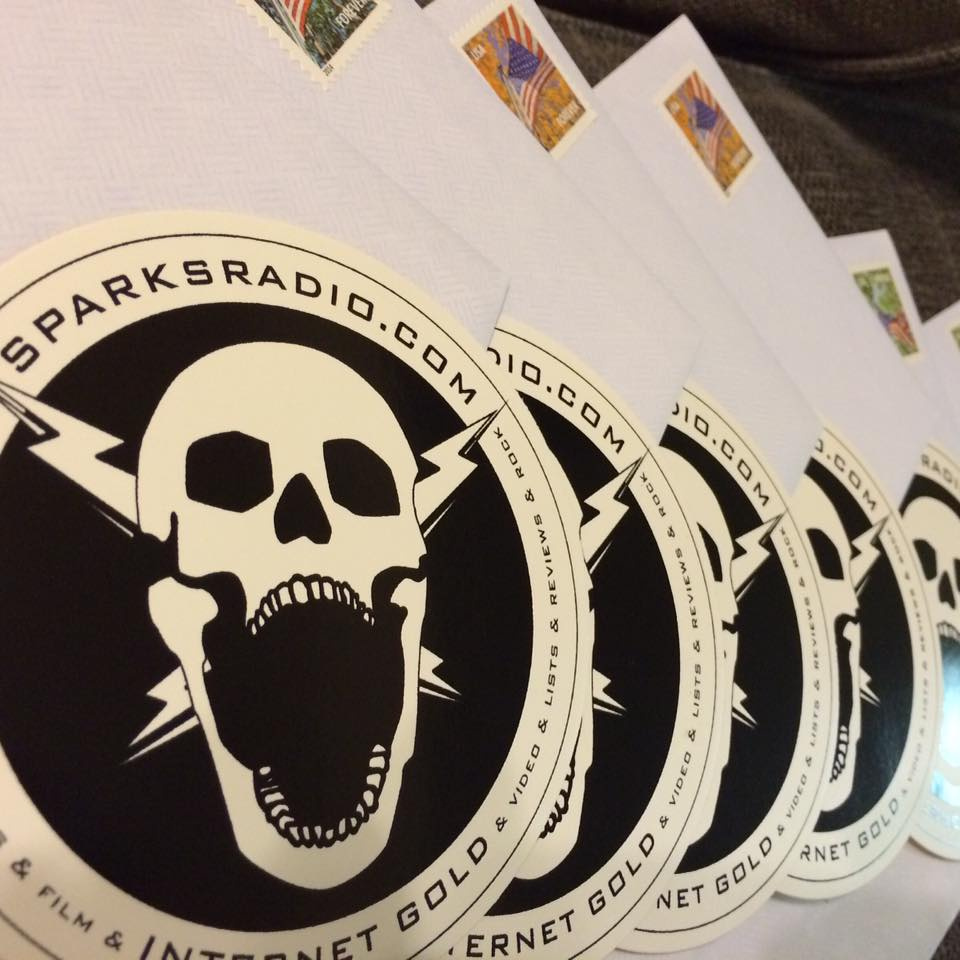 sparks radio sticker pic