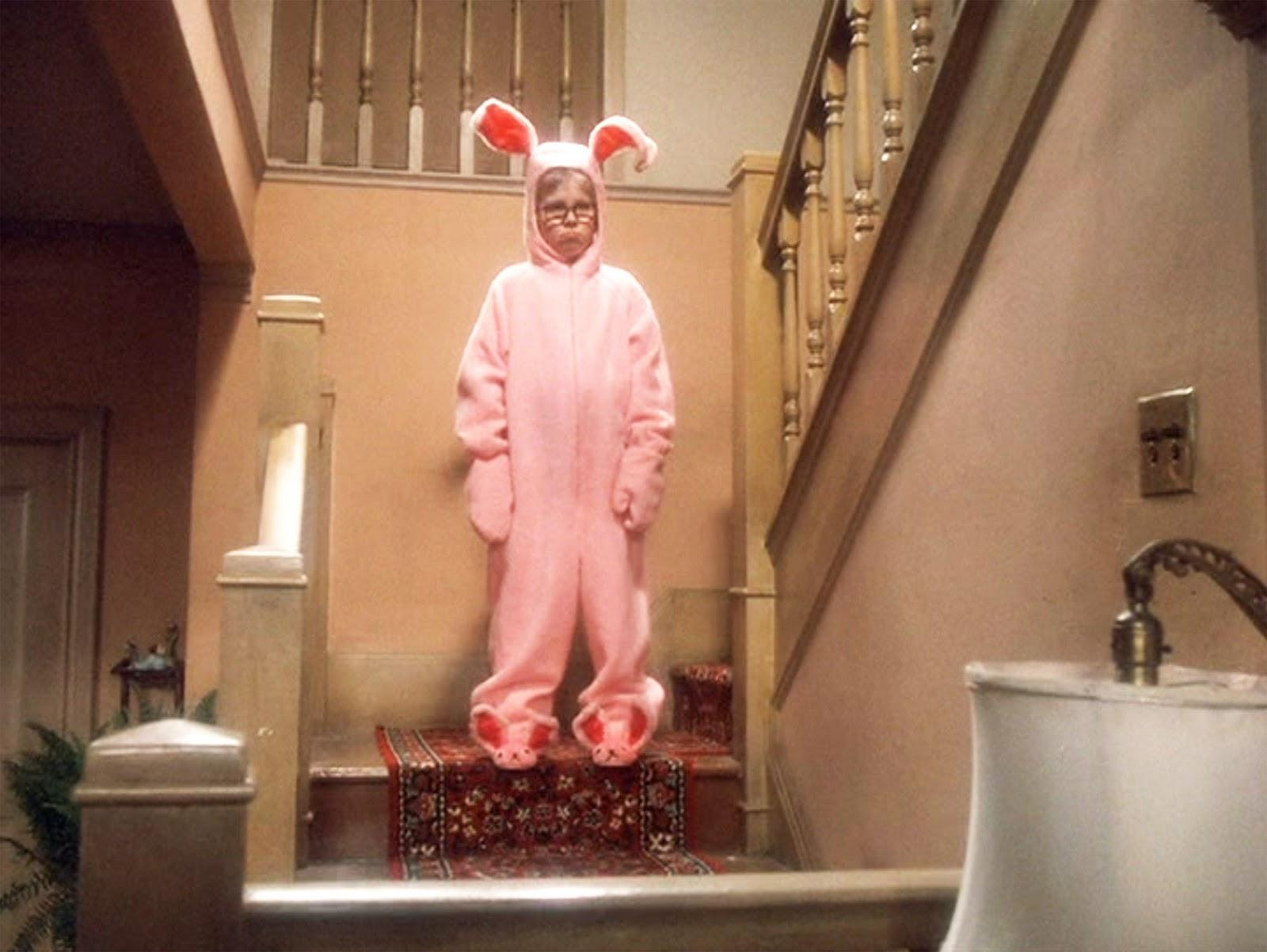 A-Christmas-Story-pink-bunny-pajama