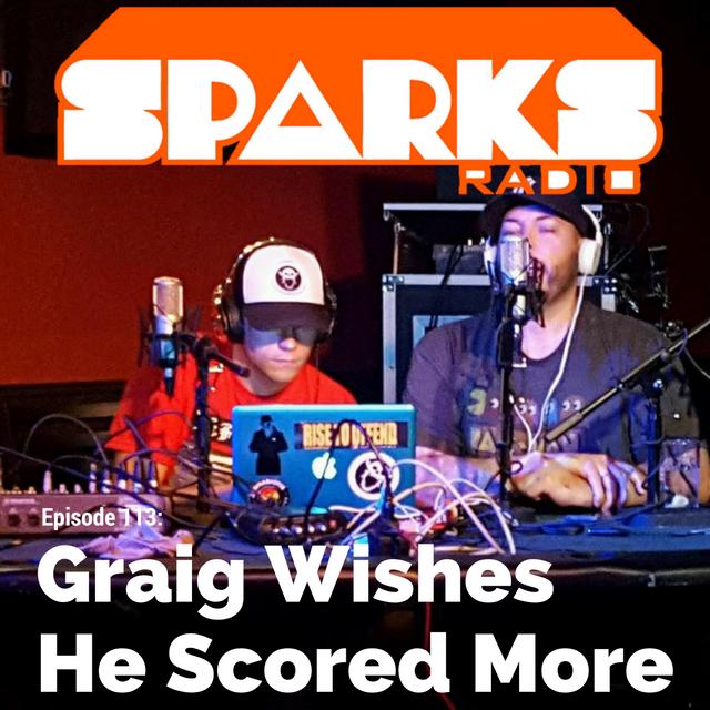 Sparks Radio Podcast Live